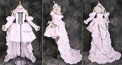 a-064 L/XL/XXL CHOBITS CHI pink Cosplay Kostüm LOLITA costume dress Abend-kleid