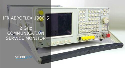 IFR AEROFLEX 1900-5, 2 GHz COMMUNICATION SERVICE MONITOR ***LOOK*** (REF: 618G)