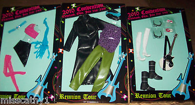 2010  Barbie & Rockers Convention Barbie/Ken  Fashions all 3! NIP