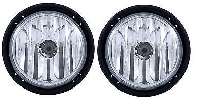 Freightliner Columbia Fog Light Lamp Pair Right & Left 03-11 With light Bulbs  - Fog Light Light Bulbs