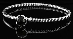 David Yurman Chatelaine Bracelet with Black Onyx 3mm