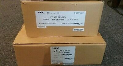 Nec Dt700 Itl-320c-2bktel Ip Phone Touchscreen And Itr-16d Bk