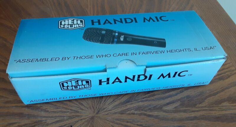 New Open Box HEIL HANDI MIC HM-IC, WINDSCREEN and MOUNT