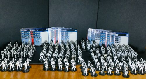 Star Wars Miniatures RANDOM LOT of 5 Stormtrooper Army Builder Legion RPG