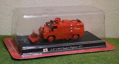 DEL PRADO FIRE ENGINES OF THE WORLD 1:87 1992 SUPER FIGHTER 327