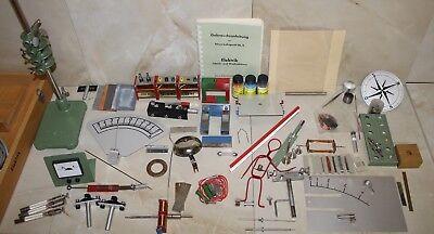 NEVA Elektrik Lehrgerät 9  mit Original  Ständer Lehrmittel Physik wie Leybold