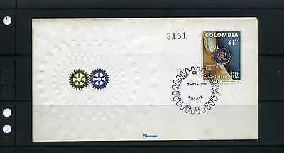 ROTARY INTERNATIONAL, 50th ANNIV. ÇLUB ROTARIO' Bogota-Colombia, cover 1926-1976