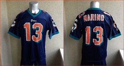 770291c53 Dan Marino Miami Dolphins VINTAGE 1990 FOTBALL NFL JERSEY S CASIMETA USA