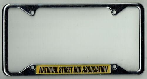 NHRA National Street Rod Association Vintage California Hot License Plate Frame