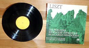 Liszt / Les Préludes / Rhapsodie Espagnole / Hungarian Rhapsodies - <span itemprop='availableAtOrFrom'>Wien-Liesing, Österreich</span> - Liszt / Les Préludes / Rhapsodie Espagnole / Hungarian Rhapsodies - Wien-Liesing, Österreich