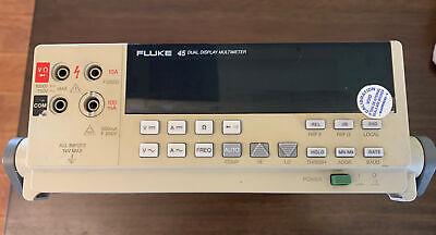 Fluke 45 Dual Display Digital Multimeter With Leads