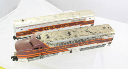 S-Gauge - Silver Flash - 477 / 478  Diesel AB Set