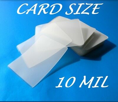 Card Size Laminating Pouches Laminator Sheets 100 3-12 X 5-12 10 Mil Quality