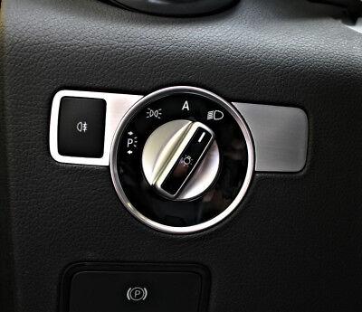 Mercedes SLK 172 Zierblenden Lichtschalter Alu R172 FL 280 200 350 AMG55 AMG45