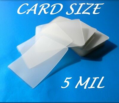 Card Size Laminating Pouches Laminator Sheets 100 2-12 X 4-14 5 Mil Quality