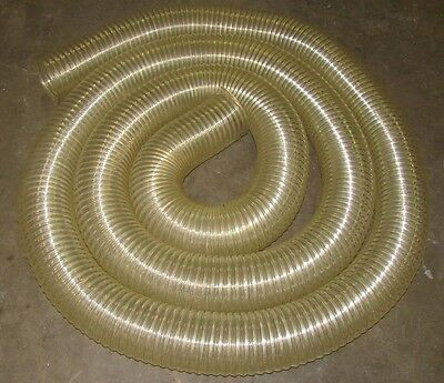 No Name 5 Diameter Clear See Through Flexible Duct Tube Hose 25 In Length New