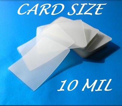 Card Size Laminating Pouches Laminator Sheets 25 Pk 2-58 X 3-78 10 Mil Quality