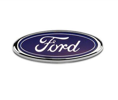 Ford Transit Connect Rear Door Badge 115MM x 45MM Blue Chrome Fiesta Mondeo FR1 d'occasion  Expédié en Belgium