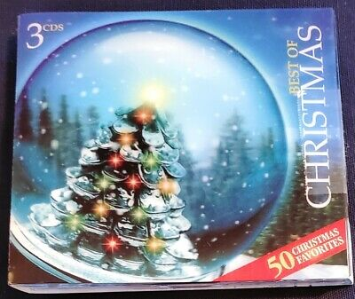 Best Of Christmas 50 Holiday Favorites (2006, 3 CDs)