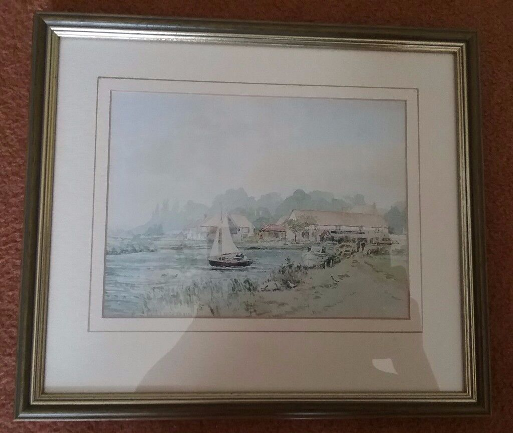 Framed Print of Coltishall by Keith Johnson