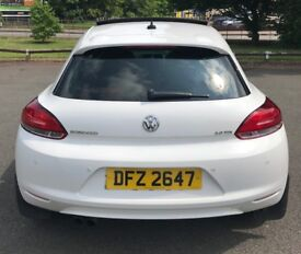 VW Scirocco Top Spec , Leather heated seats , DSG , Panroof , Cruise Control