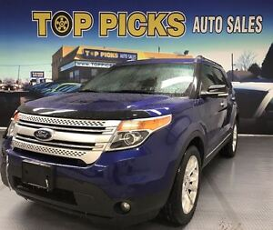 2014 Ford Explorer XLT, LEATHER, SUNROOF, NAVIGATION, 20 WHEELS!
