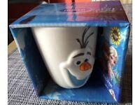 Frozen Olaf 3D mug