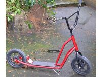 kids scooter - big wheels