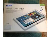 "Samsung Galaxy Tab 2 10.1"" 16gb Like Brand New"