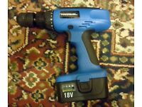 Powerbase 18 volt cordless drill