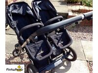 Double Pram for sale (COLLECTION ONLY) - Reasonable offers considered