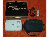Optoma HD67 / 720p, 3d, hdmi, speakers, carrybag, leads