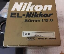 NIKON ENLARGER LENS