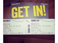 Metallica x2 Tickets