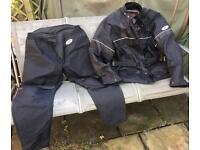 Lewis 2 Piece Motorcycle Suit , size xxL