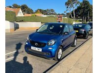 Smart Car, FORFOUR, Hatchback, 2016, Manual, 999 (cc), 5 doors