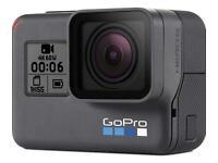 GoPro hero 6 Black edition (25Gb memory)
