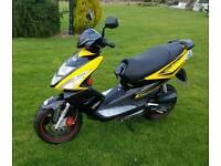 TGB R50x moped