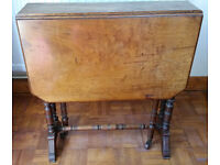 ANTIQUE SOUTHERLAND GATE LEG TABLE