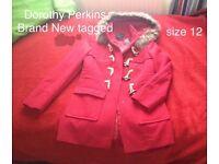 Woman's coat size 12