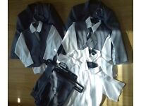 3 piece suit with tie and shirts