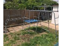 TP Garden kids garden climbing frame + free sandpit & table