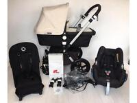 Bugaboo CAMELEON 3 with car seat and Adpaters