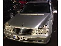 Mercedes C Class C200 2002