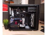 High End Editing Gaming Workstation Custom PC x99 i7 6800K GTX 1070 32GB DDR4 SSD Fractal design