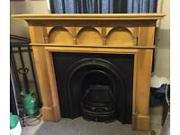 Beautiful cast iron fireplace and surround Doncaster