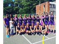 Lavender Park Netball Club - Trials announced for competitive Netball Club, SW London - Come Play!!