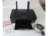 EPSON STYLUS SX115 ALL-IN-ONE INKJET PRINTER, COPIER & SCANNER