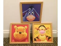 Framed prints of Winnie The Pooh and friends
