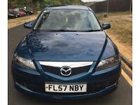 Blue 2007 Mazda 6 TS